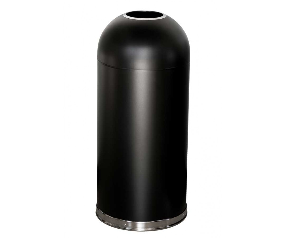 Åben top affaldsspand 56 ltr. Café-Sort-56ltr-31