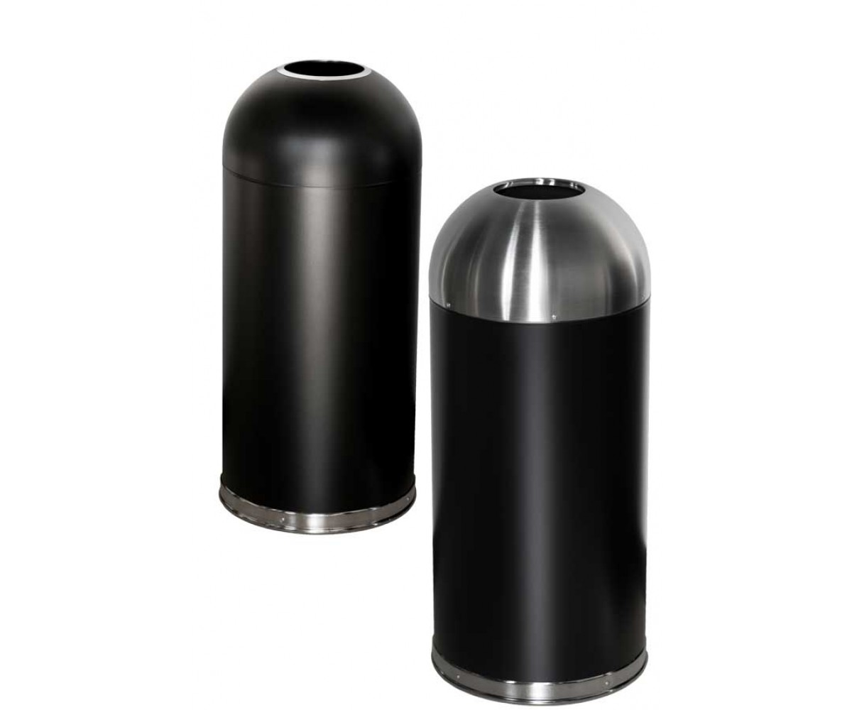 Åben top affaldsspand 56 ltr. Café-Sort-56ltr-01