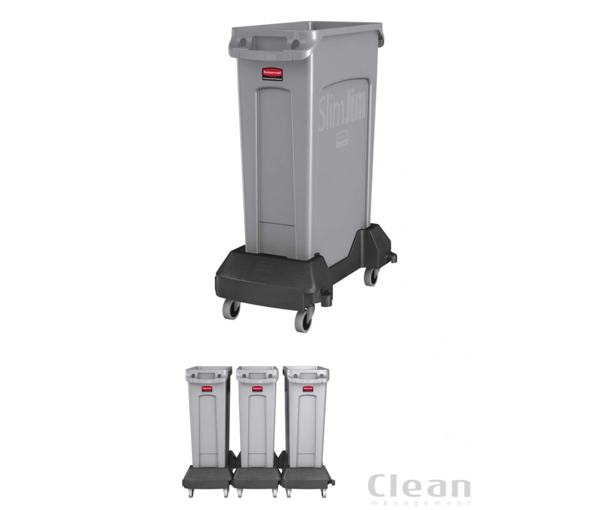 Transport Slim Jim® Trolley-sort plast-37