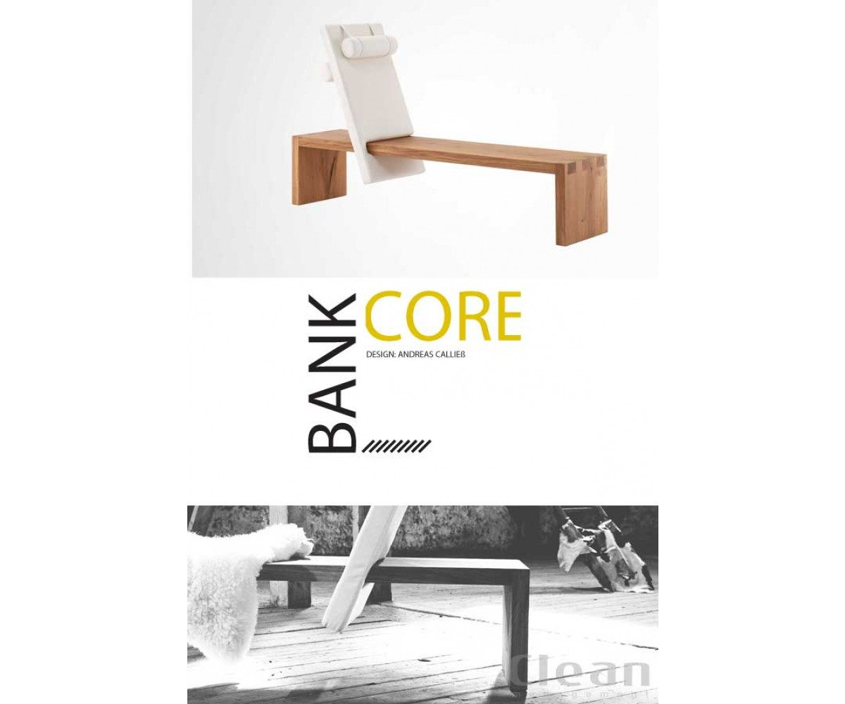 Bænk Core by Andreas Calließ-med rygstøtte i stof-01