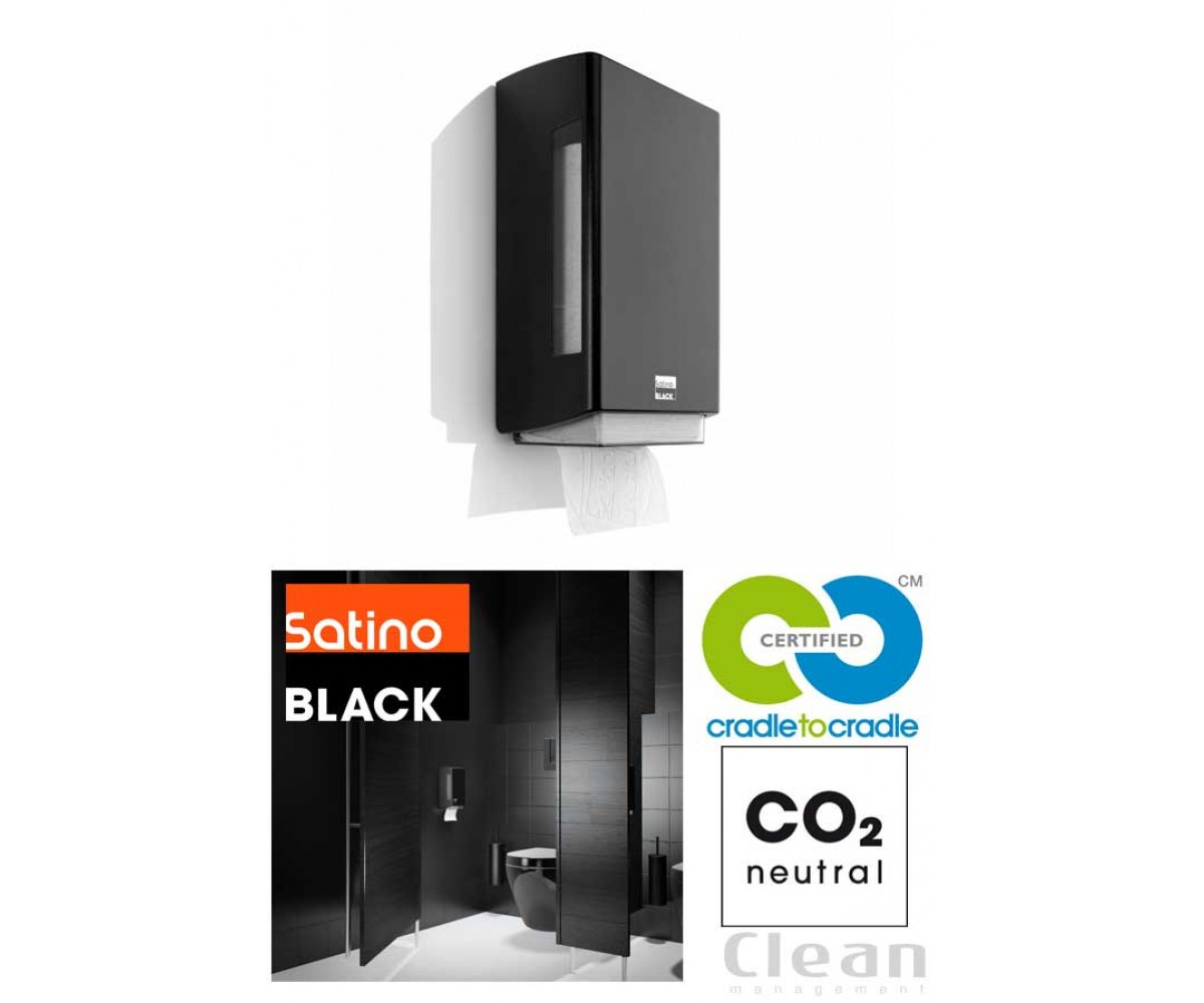 Satino Black BriQ dispenser toiletpapir-01