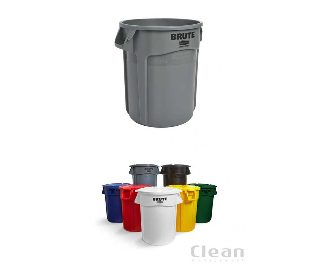 Brute® container, grå, 37.9ltr-313