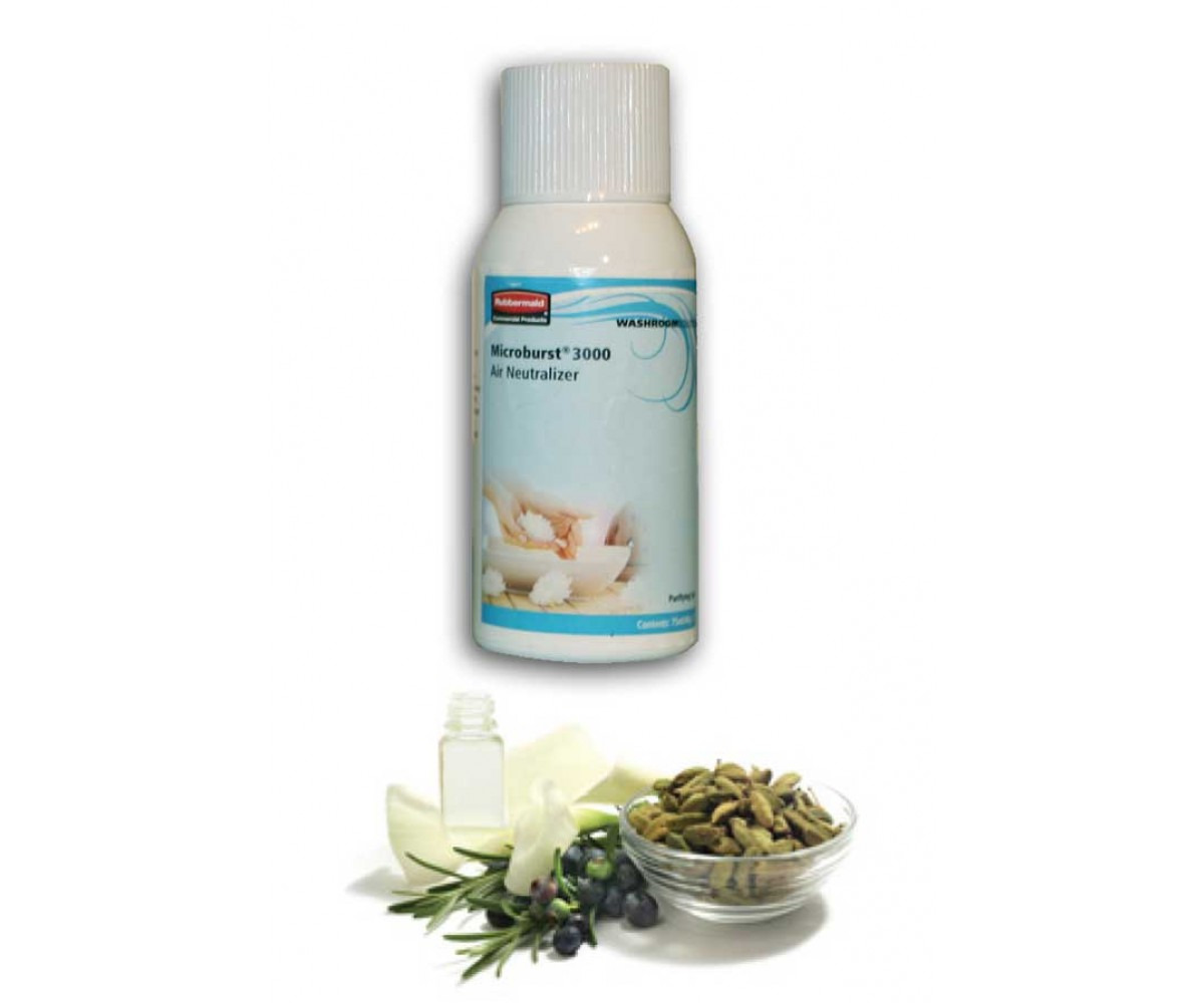 Lugtfjerner, Microburst3000 Rubbermaid, Purifying spa-31