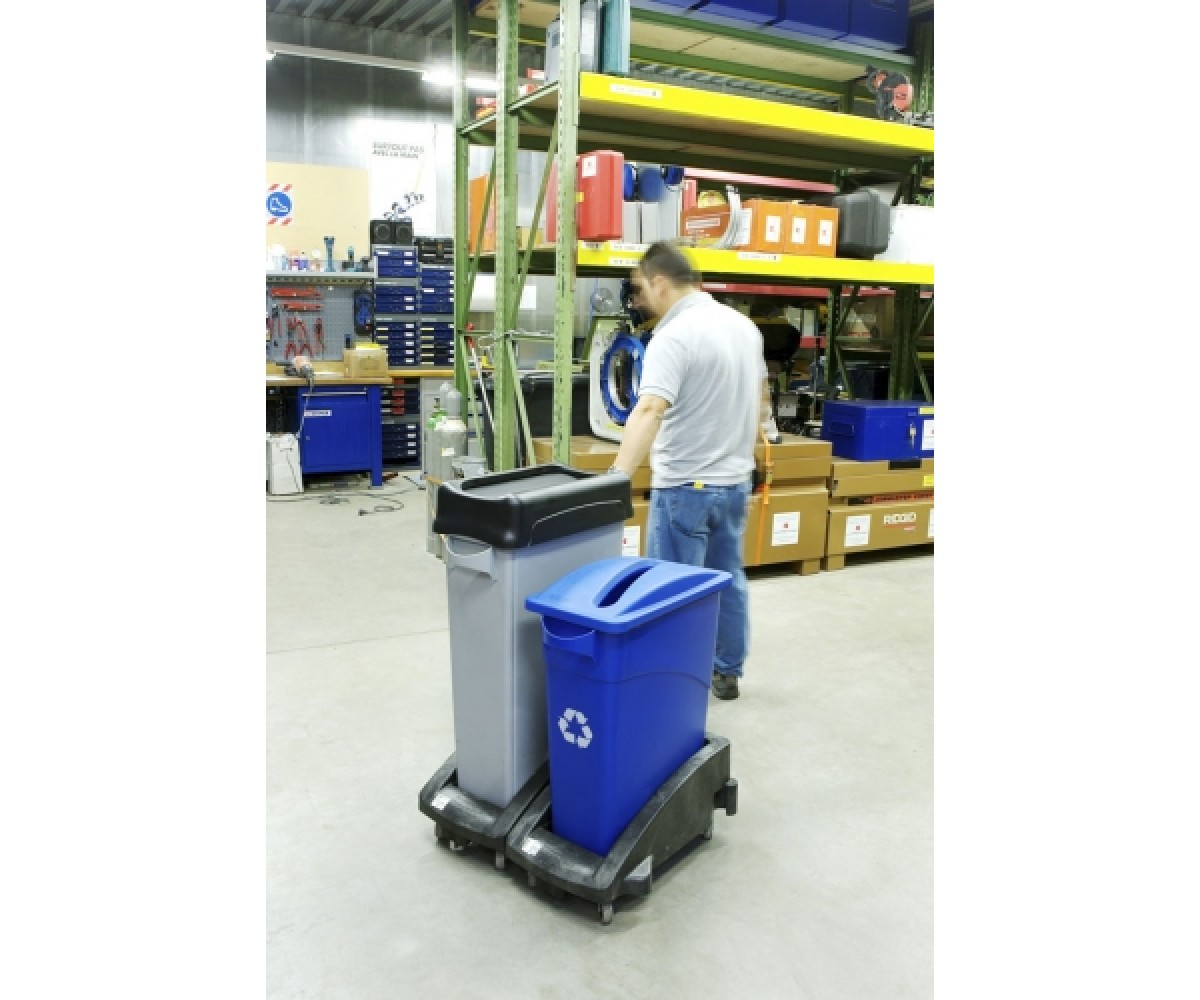Transport Slim Jim® Trolley-sort plast-07