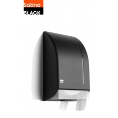 Satino Black dispenser BigRolls toiletpapir