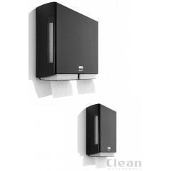 Satino Black BriQ dispenser toiletpapir