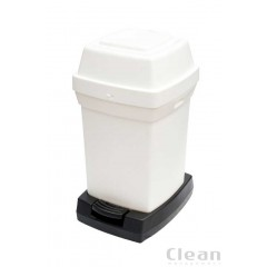 Pedal blespand Rubbermaid 65 liter 2 farver