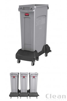 Transport Slim Jim® Trolley-sort plast-20