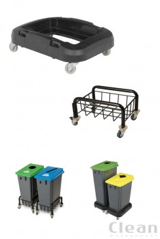 Metal eller plast vogn trolley for nem transport