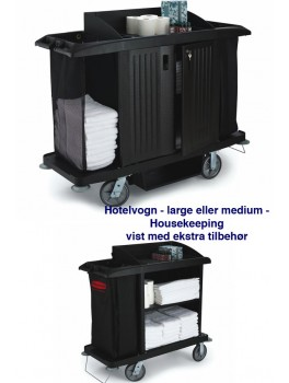 hotelvogn housekeeping high capacity medium